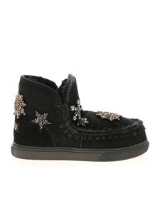 Mou - Eskimo 18 Star Patches sneakers in black