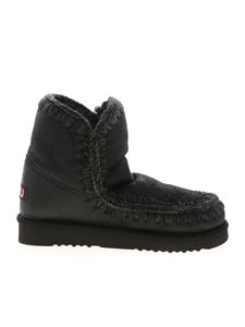 Mou - Eskimo 18 ankle boots in black