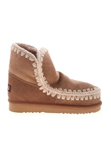Mou - Eskimo 18 boots in antique pink color