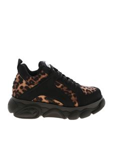 Buffalo London - Corin animal print sneakers