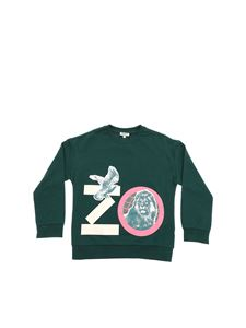 Kenzo - Crazy Jungle sweatshirt in dark green