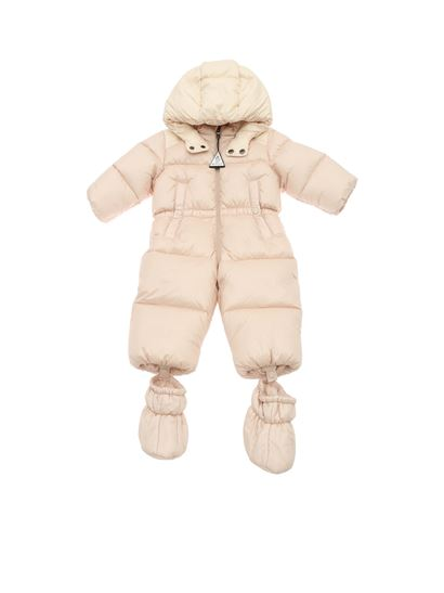Moncler Jr - Aiton padded suit in pink