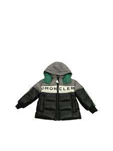 Moncler Jr - Febrege down jacket in blue and gray