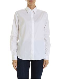 Fay - White shirt with hidden buttons