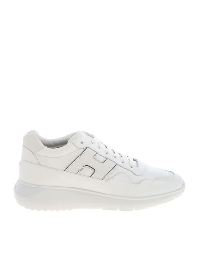 Hogan Carrie Over interactive 3 sneakers in white - HXM3710AM20M1G056Z