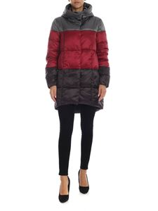 Save the duck - Iris 9 down jacket in bordeaux and gray