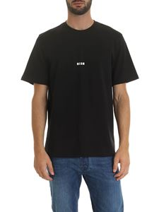 MSGM - MSGM printed t-shirt in black