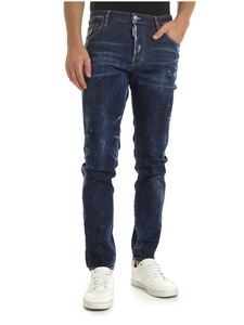Dsquared2 - Sexy Mercury jeans in blue