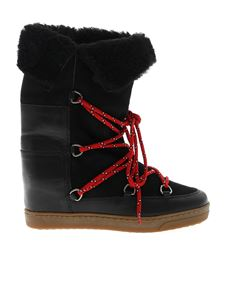 Isabel Marant - Nowly wedge boots in black