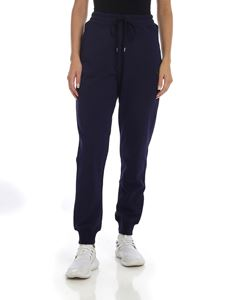 Vivienne Westwood Anglomania - Blue trousers with Orb logo patch