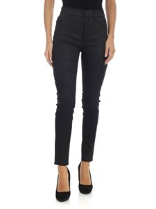 Dondup - Appetite trousers in black lamè