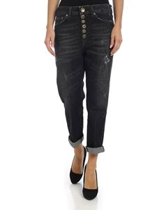Dondup - Koons jeans black faded effect