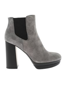 Hogan - H391 grey ankle boots