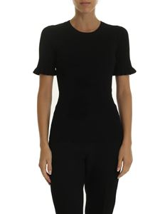 Michael Kors - Sweater in black with ruffles