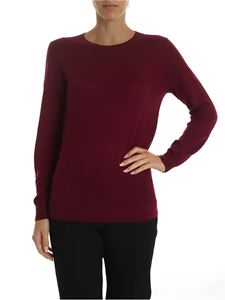Michael Kors - Knitted pullover in wine color