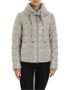 Herno - Resort down jacket in silver