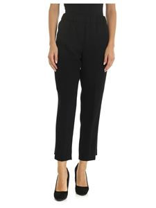 Peserico - Pants in black with jewel detail