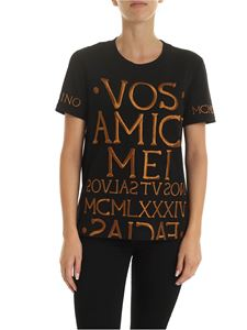 Moschino - Vos Amici Mei t-shirt in black