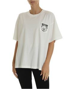 Moschino - Teddy Label T-shirt in white