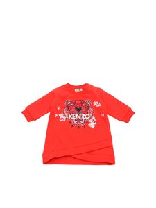 Kenzo - Abito Japanese Tiger rosso