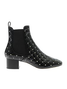 Valentino - Rockstud Spike boots in black
