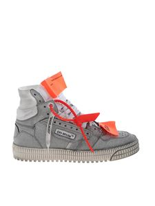 Off-White - Glitter Off Court sneakers in silver