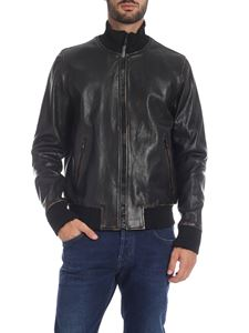 Golden Goose Deluxe Brand - Black leather jacket