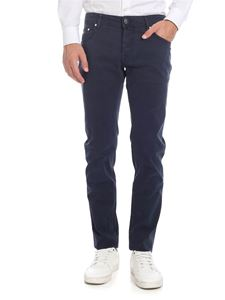 Jacob Cohën - Faded-effect jeans in blue