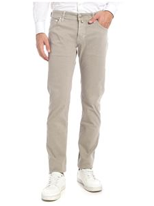 Jacob Cohën - Faded-effect trousers in beige