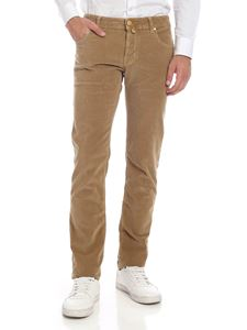 Jacob Cohën - Pantalone in corduroy color cammello