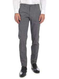 RRD Roberto Ricci Designs - Winter Taz trousers in melange grey color
