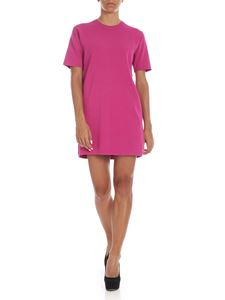 be Blumarine - Fuchsia viscose knit dress