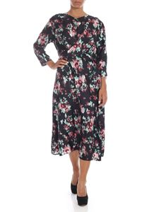 L'Autre Chose - Black dress with contrasting floral print