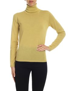 Max Mara - Kipur turtleneck in yellow