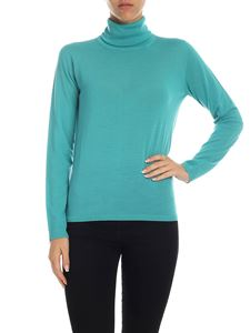 Max Mara - Kipur turtleneck in turquoise color
