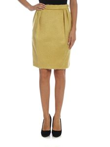 Max Mara - Turchia skirt in yellow