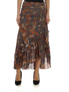 Ulla Johnson - Ailie skirt in shades of brown