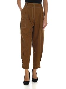 Ulla Johnson - Fleet trousers in green olive color