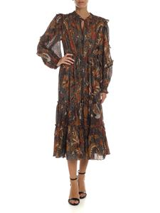 Ulla Johnson - Paola dress in shades of brown