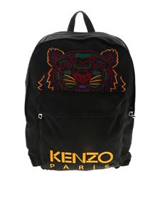 Kenzo - XL Tiger backpack in black