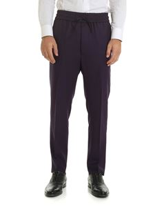 Vivienne Westwood  - Purple wool trousers