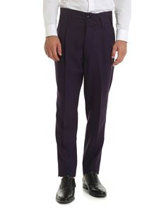 Vivienne Westwood  - Purple high-waisted trousers