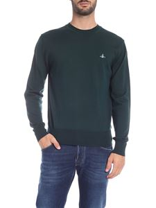 Vivienne Westwood  - Glass green pullover with logo