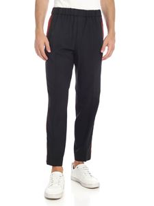 Kenzo - Cropped Sideband trousers in black