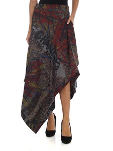 Vivienne Westwood  - Blanket multicolor skirt