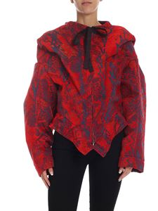 Vivienne Westwood  - Court Hoodie Bomber jacket in red