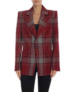 Vivienne Westwood  - Red jacket with Tartan pattern