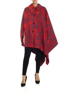 Vivienne Westwood  - Red coat with Jacquard pattern