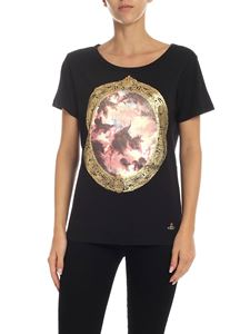 Vivienne Westwood  - Cotton T-shirt with Putti print