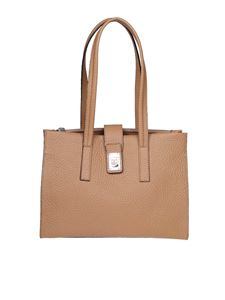 Furla - Shopping Idea M in pelle beige